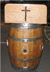 Barrel pulpit